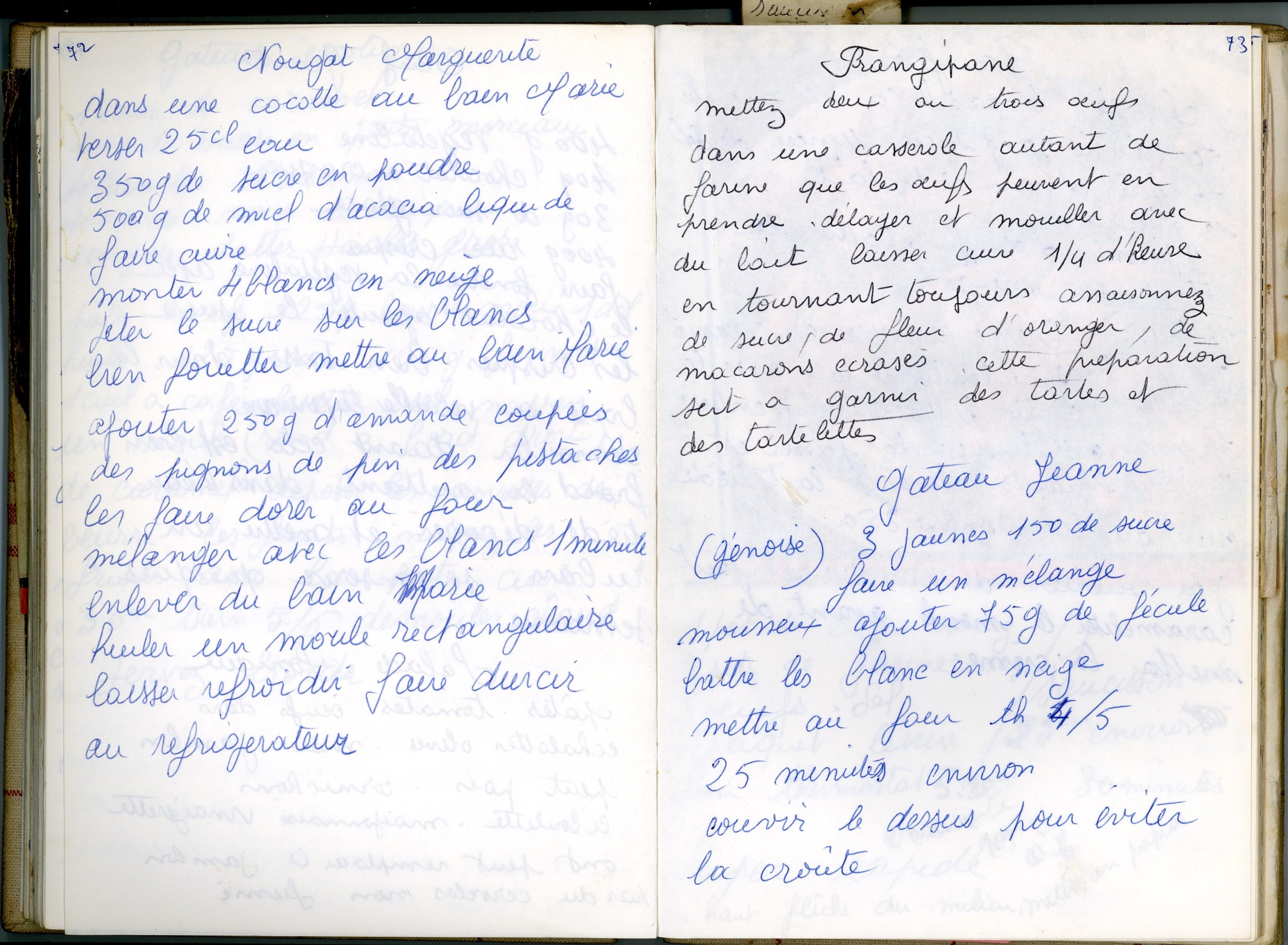 Page Livre de Recettes 1 Les Livres de Recettes