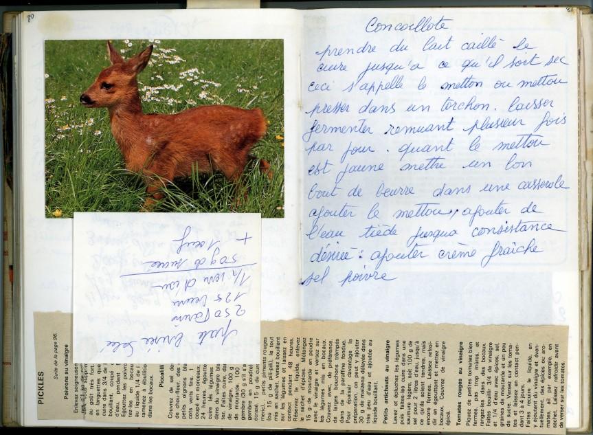 Livre Mamie Bichette, pages 80-81